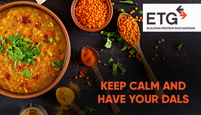 ETG Agro Keep Calm have your Dals